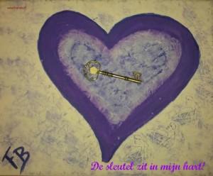 sleutel in t hart